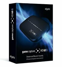 Elgato Game Capture HD60S PVR - Game Recorder For Xbox360 & PS3 XB1 Up 60FPS
