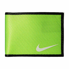 Nike Men's Tech Essential Slim Bi-Fold Wallet Volt Green NEW