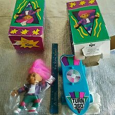 VINTAGE RUSS TURN 'N TWIST SKATEBOARDING TREASURE TROLL LOT
