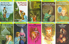 NANCY DREW by Carolyn Keene MATCHING HARDCOVER Collection Set Books 41-50!