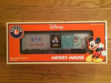Lionel Disney Operating Boxcar featuring Mickey Mouse!  New in Box!