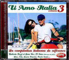 TIA MO ITALIA VOLUME 3 - LA COMPILATION ITALIENNE DE REFERENCE - CD COMPIL [625]