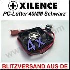 4x [Xilence] 40mm Gehäuse-Lüfter/ Fan →4cm PC Cooler CPU XPF40 Kühler Case