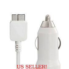 CAR AUTO POWER BATTERY CHARGER CABLE CORD FOR SAMSUNG GALAXY S5 NOTE 3 PHONE