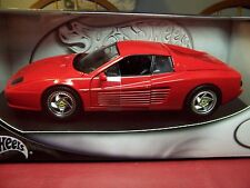 HOT WHEELS 28758 FERRARI F512 M LIMITED EDITION RARE 1/18 NIB