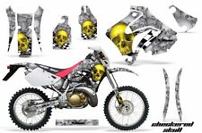 Honda Graphic Kit AMR Racing Bike Decal CRM  250AR Decal MX Part ALL CHK SKULL S