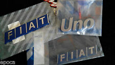 Fiat Uno Turbo Racing - Fregi Scritte Originali - Badge Genuine Spare Parts