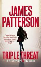 BookShots: Triple Threat by James Patterson (2016, Paperback) 1st Edition