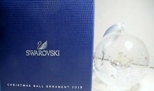 GORGEOUS SWAROVSKI CRYSTAL 2015 LIMITED EDITION CHRISTMAS ANGEL BALL ORNAMENT