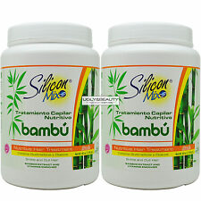 "Silicon Mix Bambu Bamboo Nutritive Hair Treatment Net Wt. 60 Oz. ""Pack of 2"""