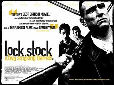 "Lock Stock and Two Smoking Barrels  16"" x 12"" Reproduction Movie Poster Photo"