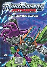 Transformers: Armada - Flashbacks (DVD, 2004) with collectible sticker sheet new