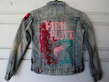 TRUNK..A MOMENT IN TIME..LIM ED..PINK FLOYD..DENIM...JACKET..sz KID'S 6/7...NEW