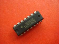 8P TL074CN TL074 Low Noise JFET Quad Op-Amp DIP-14 NEW