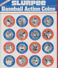 "1984 7-11 Slurpee Eastern Region Coins Checklist Sheet 8 1/2 x 14"" Cal Ripken Jr"