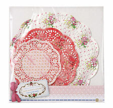 Paper Doilies Lace Crochet Vintage Look Doily Pk 24 Frill Shower Wedding Parties