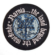 "Narnia Movie Beyond Wardrobe Logo 3.25"" Embroidered Patch- FREE USA S&H(NAPA-01)"