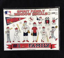 St. Louis Cardinals Spirit Family Decals NEW car/truck window - Set of 17