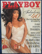 "Magazine PLAYBOY February 1995 JULIE LYNN CIALINI, ""LISA MARIE SCOTT-CENTERFOLD"""