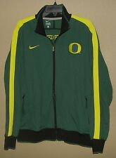 EUC WORN ONCE MENS XL NIKE OREGON DUCKS N98 TEAM FZ TRACK TOP ATHLETIC JACKET