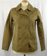 Ladies Roxy Smart/Casual Pea Coat/Jacket Sand XS - 6/8UK