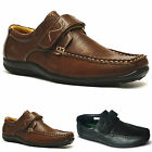 Mens New Smart Casual Velcro Boat Deck Loafers Driving Shoes Size UK 7 8 9 10 11