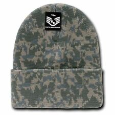 Universal ACU Digital CAMO Cuff Watch Stocking Cap Beanie Winter Stocking
