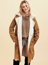 Free People Sherpa Suede Trench Coat-S-$2065