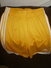 * ADIDAS * Men's Size SMALL Athletic CLIMA-COOL Running Basketball Yellow Shorts