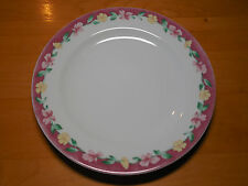 Pfaltzgraff Atmosphere GRANDMA'S KITCHEN Set of 5 Dinner Plates Pink Floral Bord