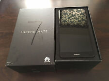 "Huawei Ascend Mate 7 Black (FACTORY UNLOCKED) 16GB 4G LTE 6"" MT7-L09 2GB RAM"