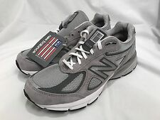 NEW BALANCE Men's 990v4 Shoes Grey M990GL4 Size 9.5 X-Wide 4E Made In USA $164