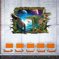 Wandtattoo Wandbild Wandsticker Kinderzimmer Dinosaurier Sticker 3D  NEU 25