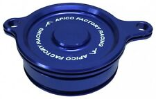 Apico Oil Filter Cover KAWASAKI KX450F 06-15, KLX450 08-15 BLUE