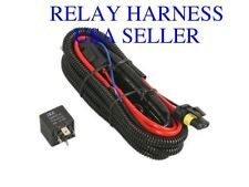Relay Wiring Harness w/ Fuse for HID Xenon Kit Size - H13 9008 / Warranty