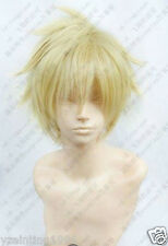 Hetalia Axis Powers Denmark Blonde Cosplay Wig + gift
