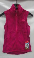North Face Womens Osito Vest C664 Fuschia Pink Size Extra Small