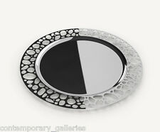 New Modern Contemporary Stainless Steel Steelforme Stones Collection Tray 12.5""