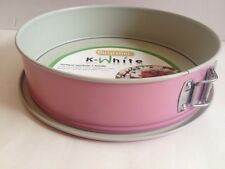 Pink Round Springform Cake Pan Bakeware 10 Inches Guardini Made In Italy New