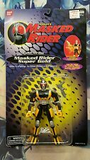 BANDAI Saban's MASKED RIDER SUPER GOLD Talking Bike Action Figure NEW SEALED