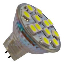 MR11 12 SMD LED 12V (10-30V DC) 170LM 2.4W White Bulb (~25W)
