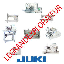 Ultimate JUKI  Sewing Machines  Service Repair Parts manuals (PDFs manual s DVD)
