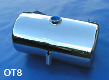 CHOPPER CUSTOM ROUND OIL TANK CHROME FIT HARLEY SOFTAIL
