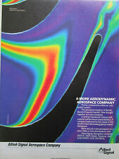 4/1988 PUB ALLIED SIGNAL AEROSPACE COMPANY BENDIX KING GARRETT ORIGINAL AD