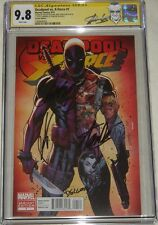 Deadpool vs X-Force #1 Variant Signed Stan Lee Campbell & Rob Liefeld CGC 9.8 SS