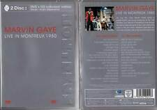"""MARVIN GAYE """"Live In Montreux 1980"""" (DVD (Zone 1) + CD) 2003 NEUF"""