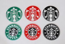 RED BLACK GREEN Coasters Silicone STARBUCKS Mermaid Cup Mat