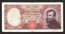 [NC] REPUBBLICA ITALIANA - 10000 LIRE MICHELANGELO - 27/07/64 (nc1998)