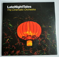 The Cinematic Orchestra  Late Night Tales -  promo PROMO CD RARE