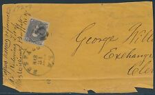 #70a BROWN LILAC ON COVER FRONT FROM BUFFALO, NY -- VF -- CVV $325++ BS2282